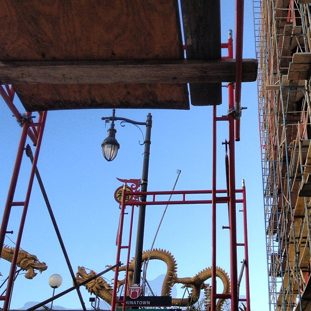 ing - Chinatown scaffold