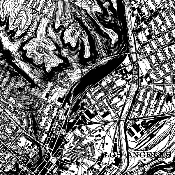 ing - 1928 topological map of Los Angeles